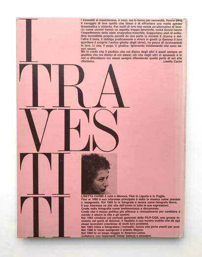 Lisetta Carmi,I Travestiti