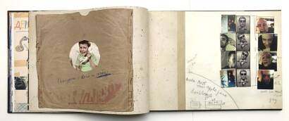 Sergey Kamennoy,The album of a discharged soldier (Signed)