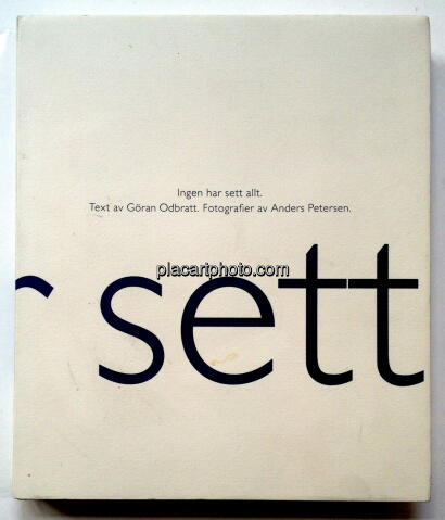 Anders Petersen,Ingen har sett allt