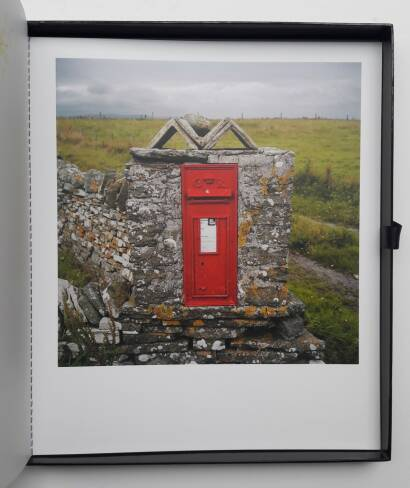 Martin Parr,Remote Scottish postboxes (WITH A SIGNED POSTCARD)
