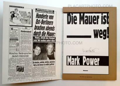 Mark Power,Die Mauer ist weg !  (Signed)