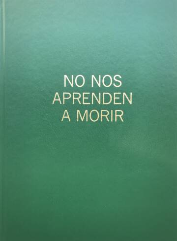 Antonio Jimenez Saiz,No Nos Aprenden A Morir (Signed and numbered with risograph print)