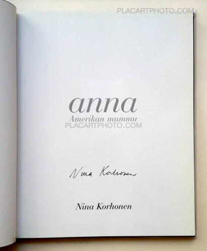 Nina Korhonen,Anna Amerikan Mummu (Signed)