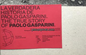 Paolo Gasparini,THE TRUE STORY OF PAOLO GASPARINI (SIGNED)