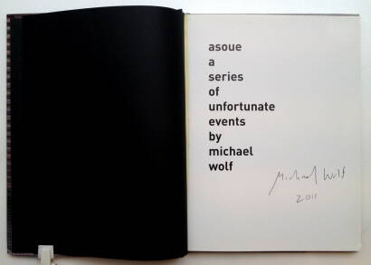Michael Wolf,Asoue (Signed)