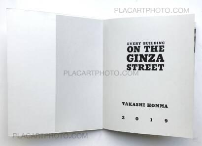 Takashi Homma,The Ginza Street