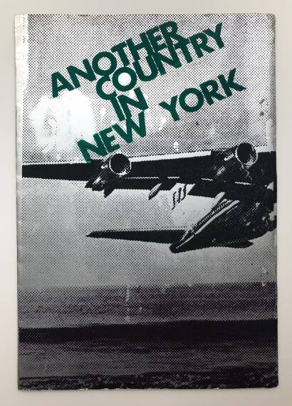 Daido Moriyama,Another country in New York (First edition)
