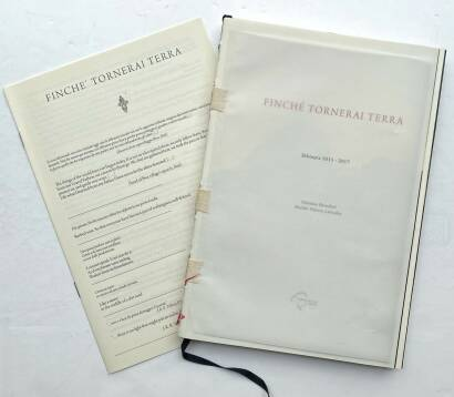 Valentino Barachini,FINCHÈ TORNERAI TERRA (100 copies numbered and signed)
