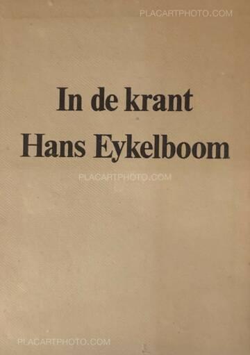 Hans Eijkelboom,In de Krant (In the Newspaper) SIGNED!
