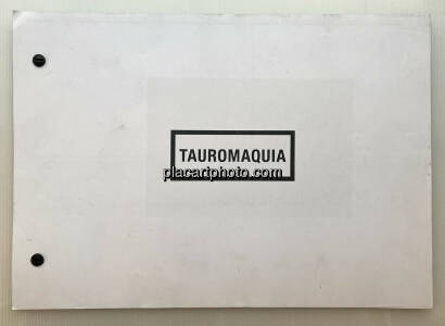 Julian Baron,TAUROMAQUIA (signed and numbered)