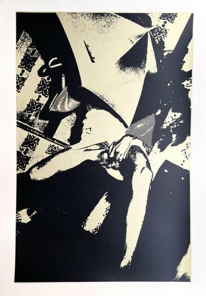 Keizo Kitajima,Silkscreen KOZA-29 / Gold & Black version Edt 2/9 (Signed and numbered)